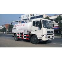Buy cheap Commercial Special Purpose Trucks 10000 L Sewage Suction Tanker Truck from wholesalers