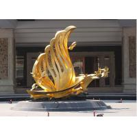 Quality Contemporary Decoration Bronze Bird Sculpture / Statue With 250cm Height for sale