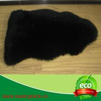 Quality high quality short hair sheepskin rugs sheep fur rug for chair cushion  made in China for sale