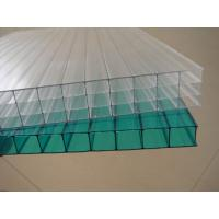 Quality Clear weather resistance Twin walls Polycarbonate Hollow Sheet 12 / 14 / 16 mm for sale