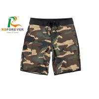 Quality China Supplier Camo Shorts with Pocket Cargo Board Shorts Zipper with Drawstring for sale