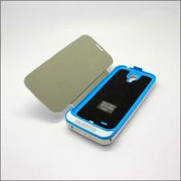 China For Samsung Galaxy S4 i9500 battery case power bank with leather case 4200mAh on sale