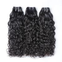 Quality Healthy 8''Cambodian Virgin Hair Bundles Tangle Free Natural Color for sale