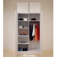 Simple White Wardrobe Storage Cabinet For Living Room Of Solidtimberdoor