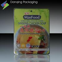 Quality Three Side Seal Bags For Soup Bases , Flexible Packaging Bag for sale