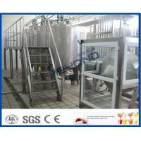 Quality 500L 1000L SGS Butter Making Equipment With Butter Separator Machine for sale