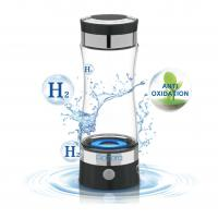 China Portable Hydrogen Rich Water Generator SPE Bottle USB Charging 5W For Drinking on sale