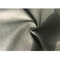 Customized Size Melton Wool Fabric Comfortable With Yarn Dyed