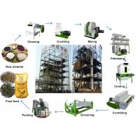Buy cheap AMEC Auto Complete Animal Feed Pellet Production Line 1 - 30t/H For Chicken from wholesalers