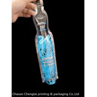 Liquid Food Bottle Shaped Stand Up Pouch For Mineral Water Packaging Eco Friendly