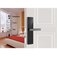 China Android IOS APP Remote Control Wifi Security Door Lock Bluetooth Digital For Apartment on sale