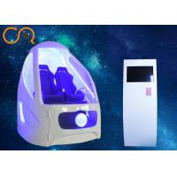 9D Virtual Reality Seat , Vr Gaming Chair Interactive Games With Fiberglass Material