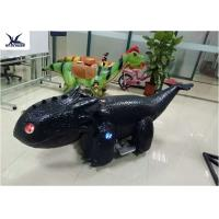 Quality Coin Operated Motorized Animal Scooters Game Electric Toy Car Length 1.7 M - 2 M for sale