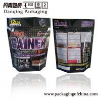 Quality Food Flexible Packaging Stand Up Zipper Pouches , Zipper Stand Up Resealable Pouches for sale