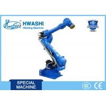 Automobile Parts Industrial Welding Robots , Robotic Arm Welding with CE / CCC Standard