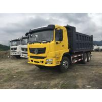 Quality 6x4 LHD RHD 10 Wheeler Dump Truck , Loading Capacity 40 Ton Dump Truck for sale