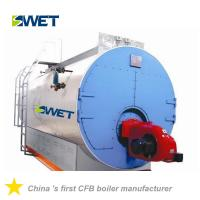 Buy WNS 10t/h oil gas fired fire tube industrial steam boilers for Chemical industry at wholesale prices