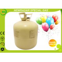 Buy 30LB / 50LB Disposable Helium Tank High Purity Gas For Celebration at wholesale prices