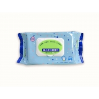 Quality Food Grade Xylitol RO Pure Water Baby Wet Wipes PH Weakly Acid for sale