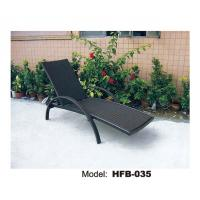 Textilene Fabric Metal Outdoor Pool Chair Chaise Lounge Of