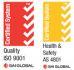 Top Fence Co.Ltd Certifications