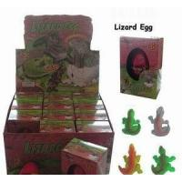 Quality Hot Selling Hatching Lizard Growing Pet Egg Toy for sale