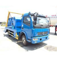 China Diesel Fuel Type Waste Management Garbage Truck 4x2 With 95hp Engine Capacity on sale