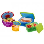 Quality Disposable 13pcs Plastic Lunch Bowl Microwave Kitchen Pet Food Storage for sale