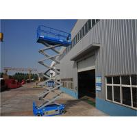 Quality High Strength Rough Terrain Scissor Lift Electric Walking Assistant Device for sale