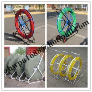 Quality Material Fiberglass duct rodder,Length 50m 100m 200m duct rodder for sale