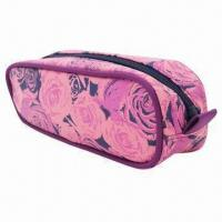 China Printed cosmetic bag on sale