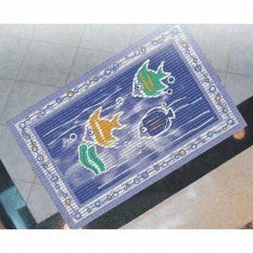 Pvc Waterproof Bathroom Floor Mat Anti Slip And Shock Relieving Effects For Sale 91073293