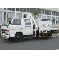 Quality Durable Lifting Knuckle Boom Truck Mounted Crane With 7.5m Max Lifting Height for sale