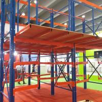 Quality Full Easy Assembled Mezzanine Floor Racking System Steel Material For Cold Room for sale