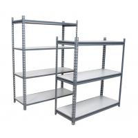 China light duty warehouse storage rack Slotted angle steel shelving/logistics equipment racking on sale