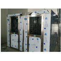 Buy HEPA Filtered Stainless Steel Cleanroom Air Shower Channel , PLC Control System at wholesale prices