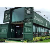 Buy Modular Shipping Container Restaurant Prefabricated Container Coffee Shop Interior Design at wholesale prices