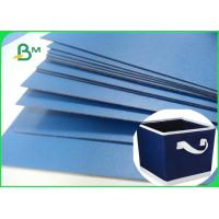 Quality Lacquered Finish Glossy Blue Cardboard For Gift Box File Folders 720 x 1020mm for sale