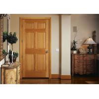 Quality Bathroom Wood Plastic Composite Doors Customized Color , 19-40mm Door Frame Thickness for sale