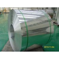 Quality Dimpled Aluminum Tread Plate , One Bar Shape Aluminum Checker Plate Sheets  for sale