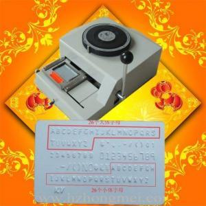 Quality Card Embosser(Common+MV) for sale