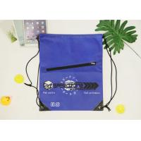 China Recyclable Non Woven Backpack Drawstring Design Strong Air Permeability on sale