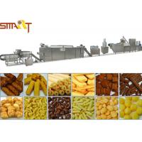 Quality High Performance Snacks Food Product Line , Stainless Steel Puffed Food Machine for sale