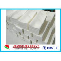 China Baby Care Disposable Dry Wipes , Dry Baby Wipes Disposable Mesh Spunlace Nonwoven on sale