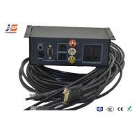 Buy cheap Conference Under Table Multimedia AV Universal Power Outlet Media Hub from wholesalers