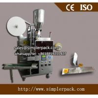 China Automatic Double Chamber Malawi CTC Tea Bag Packing Machine with Thread and Tag on sale