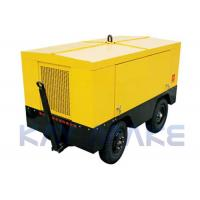 Quality Power Saving Portable Screw Air Compressor With Intelligent Control System for sale