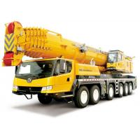 Quality XCT8L4 yellow truck mounted mobile crane For Lifting Operation for sale