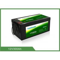 Quality 12V 300Ah Lithium Iron Phosphate Battery Over 2000 Cycles 2 Years Warranty for sale