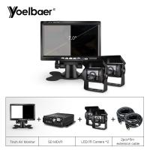 Quality School Bus Trucks Mobile Dvr Camera Systems Anti Vibration Multi Code Stream for sale
